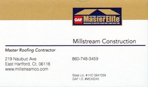 Click to see Millstreamn Construction Details